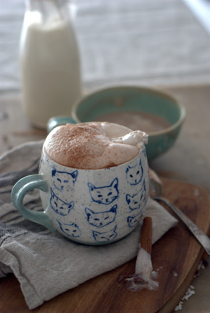 10 1 - Coconut- Almond Milk Spiced Hot Chocolate