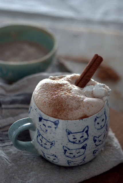 5 - Coconut- Almond Milk Spiced Hot Chocolate