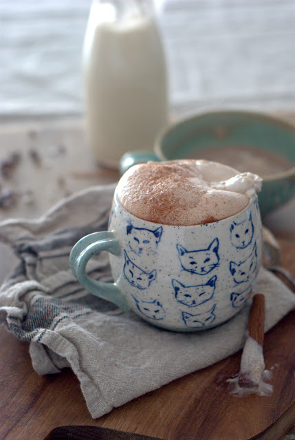 9 - Coconut- Almond Milk Spiced Hot Chocolate