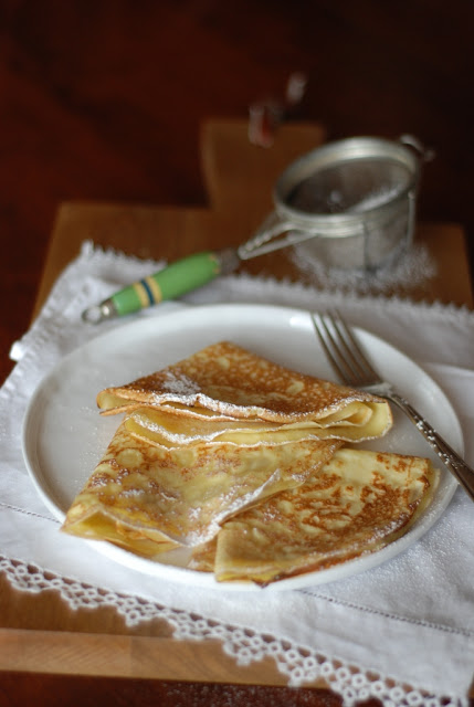 2 - Brush up on your crepe making skills