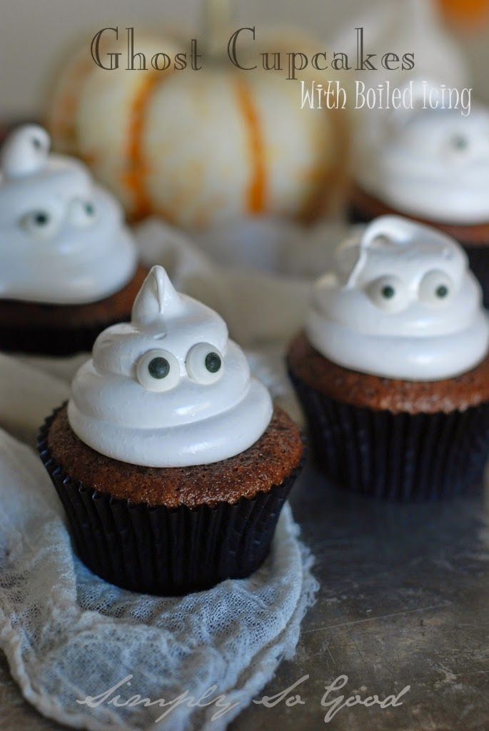 Ghostcupcakeswithboiledicing043 - Halloween Tricks and Treats