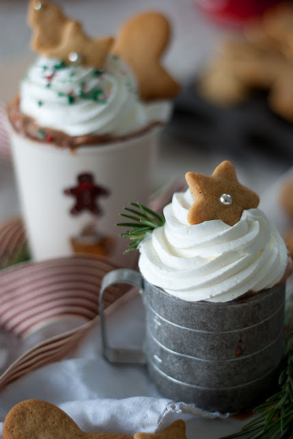 Warming Gingerbread Hot Chocolate