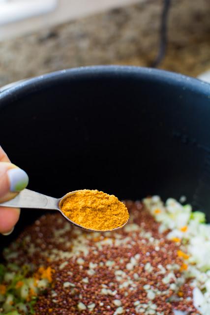 DSC 0014 2 - Coconut Quinoa Lentil Soup or Superfood Soup