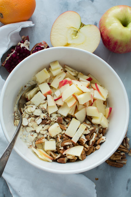 DSC 0048 - Apple Pecan Bircher Muesli or Soaked Oats