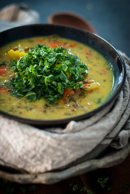 DSC 9131 - Coconut Quinoa Lentil Soup or Superfood Soup