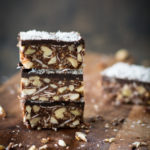 stacked nut bars