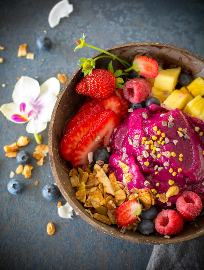 Cherry Berry Pitaya Bowl