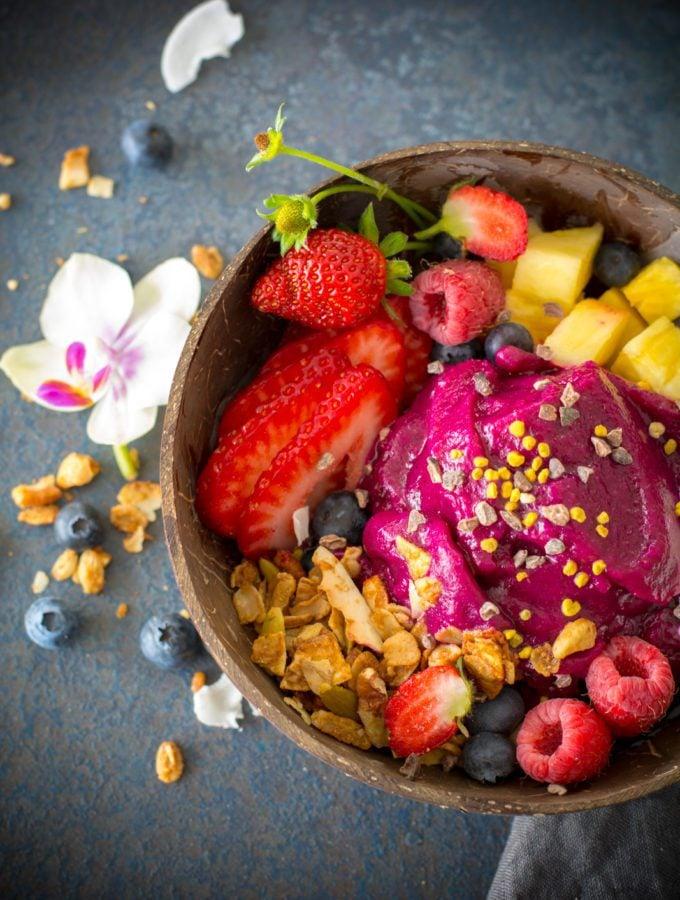 Cherry Berry Pitaya Bowl