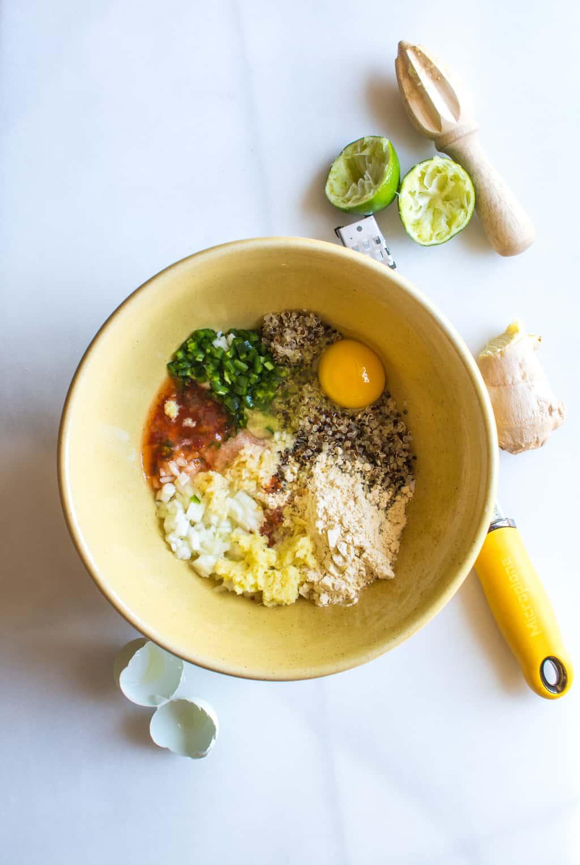 DSC 0014 - Banh Mi Beet Quinoa Burger