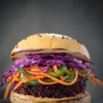 Bahn Mi Beet Quinoa Burger