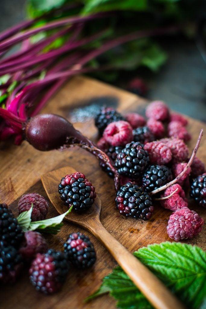 DSC 0159 683x1024 - Beet Raspberry Rose Sorbet