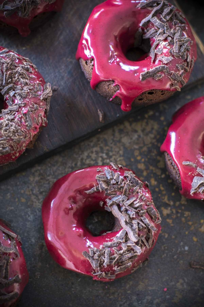 untitled 27 683x1024 - Chocolate Baked Doughnuts with Beet Blood Glaze