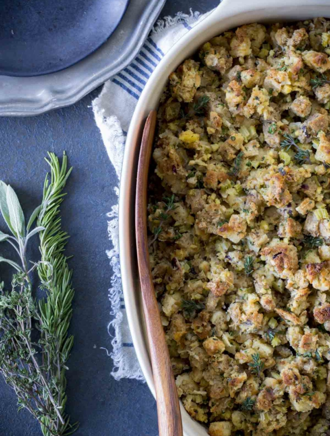 Fresh Herb Turkey Stuffing