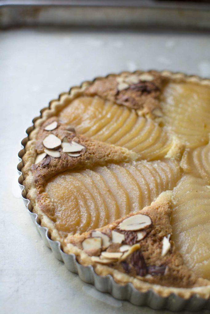 untitled 14 683x1024 - Pear Almond Tart