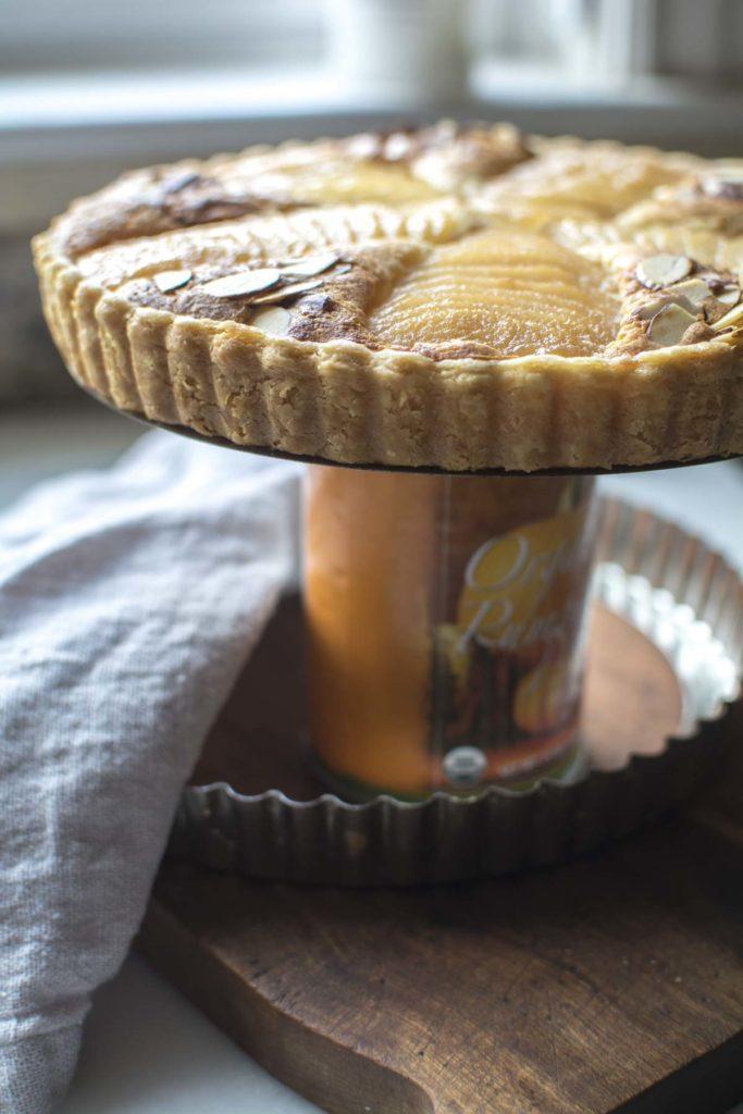 untitled 15 683x1024 - Pear Almond Tart