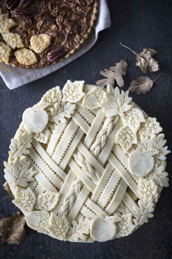 untitled 3 3 683x1024 - Spiced Apple Sour Cream Pie