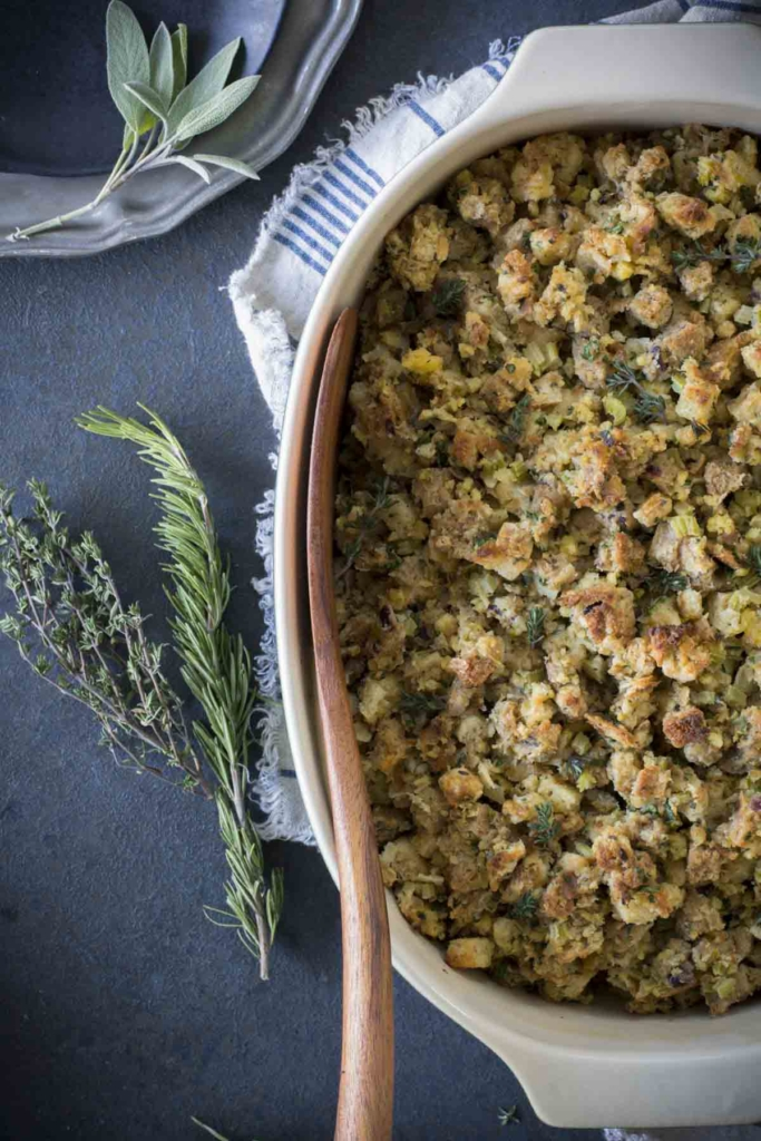 untitled 4 2 1 683x1024 - Fresh Herb Turkey Stuffing