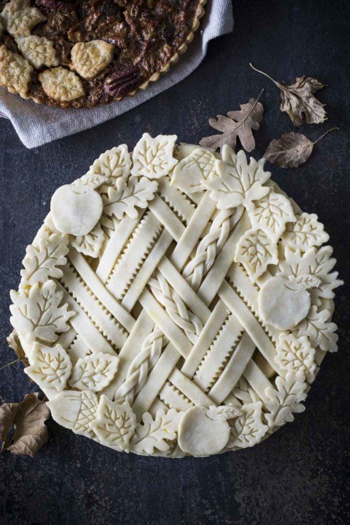 untitled 5 3 683x1024 - Spiced Apple Sour Cream Pie
