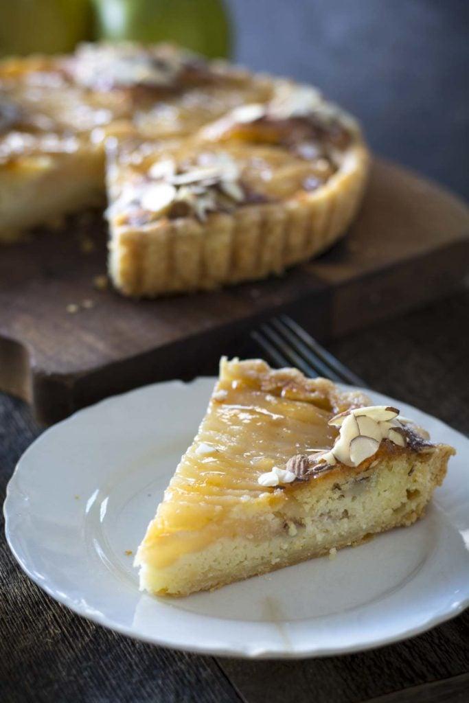 untitled 8 2 683x1024 - Pear Almond Tart