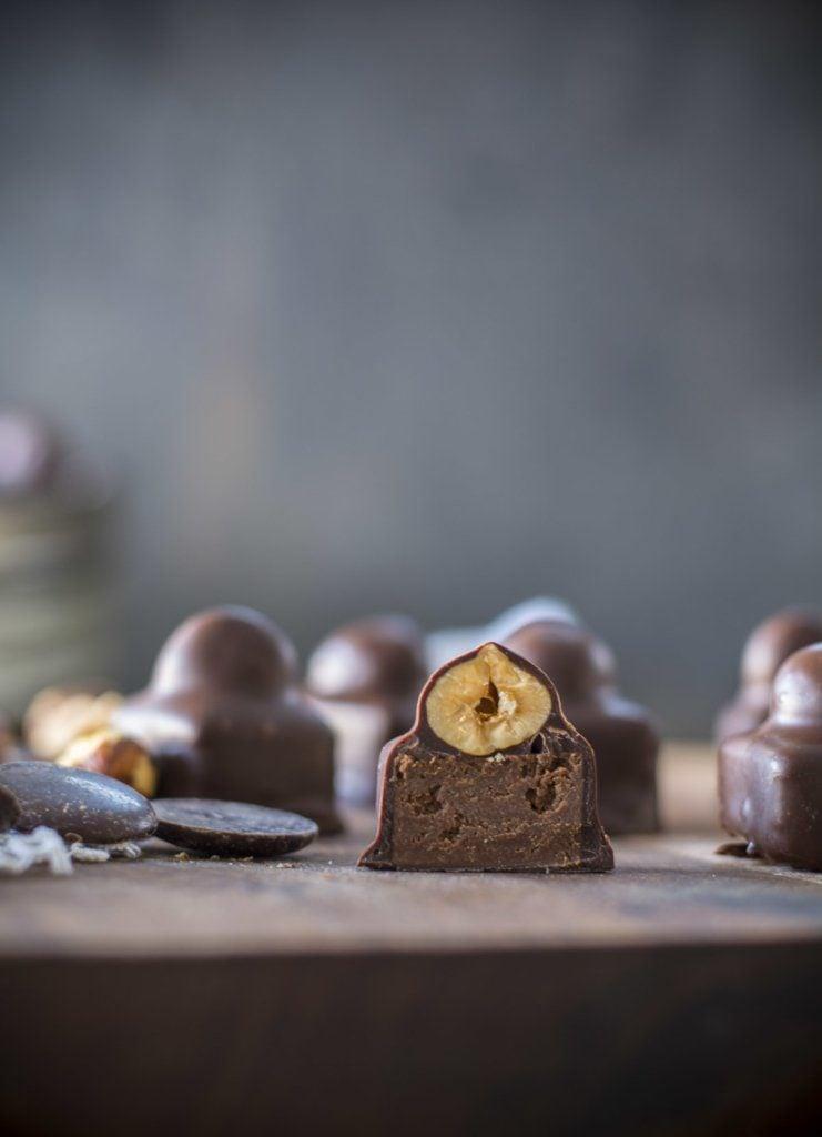 untitled 2 1 741x1024 - Praline Gianduja - Chocolate Hazelnut Candy
