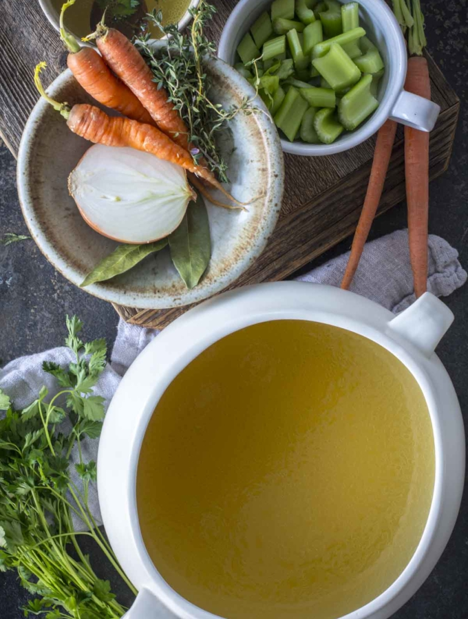 Healing Instant Pot Bone Broth