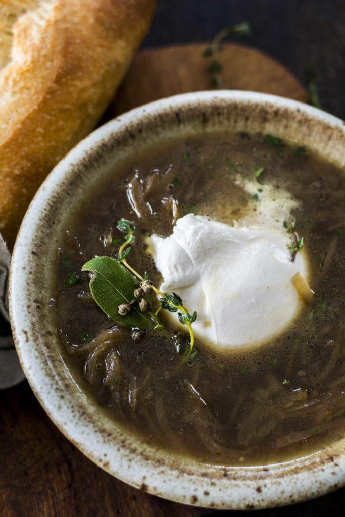 untitled 9 683x1024 - Crockpot Burrata French Onion Soup