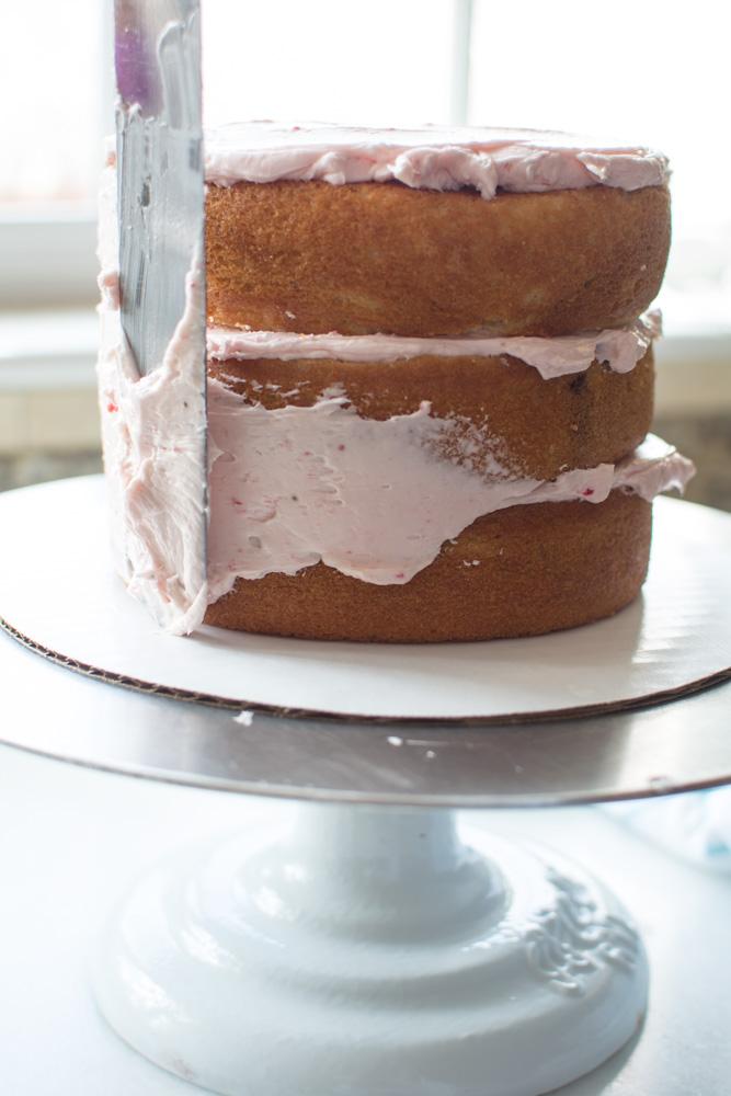 DSC 0133 - High Altitude Vanilla Bean Cake