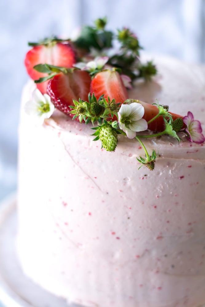 DSC 0141 - High Altitude Vanilla Bean Cake