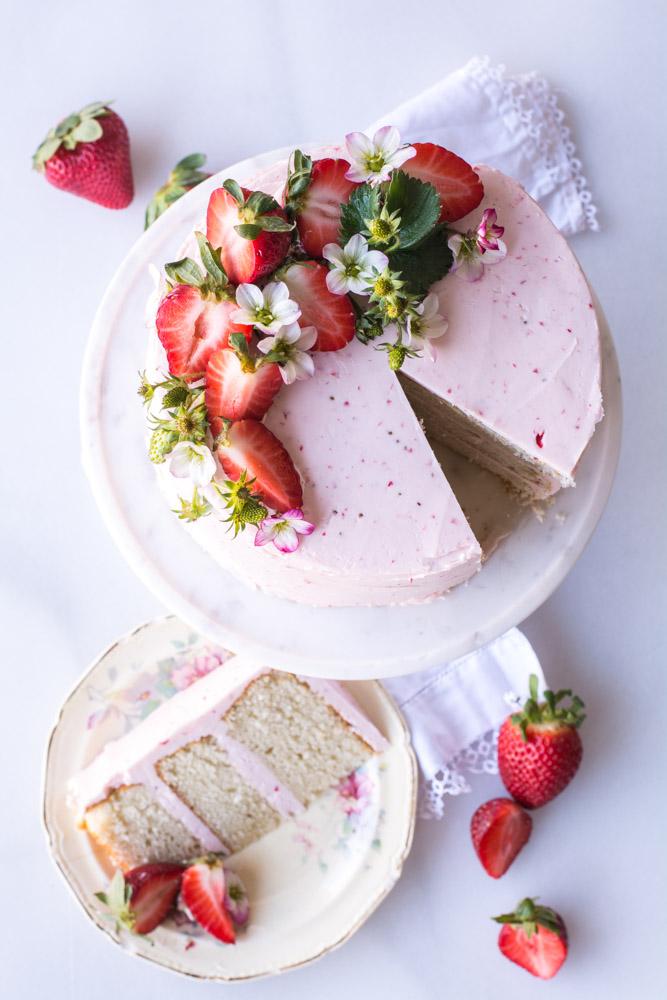 DSC 0175 - High Altitude Vanilla Bean Cake