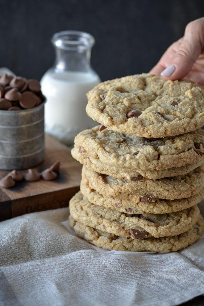 DSC 1316 - Jumbo Chocolate Chip Cookies