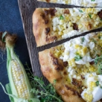 DSC 0129 150x150 - Sweet Roasted Corn Bacon and Burrata Pizza