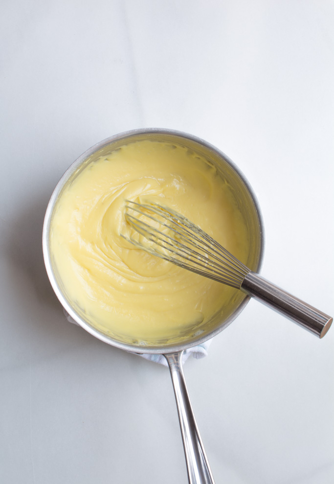 Velvety Vanilla pastry cream
