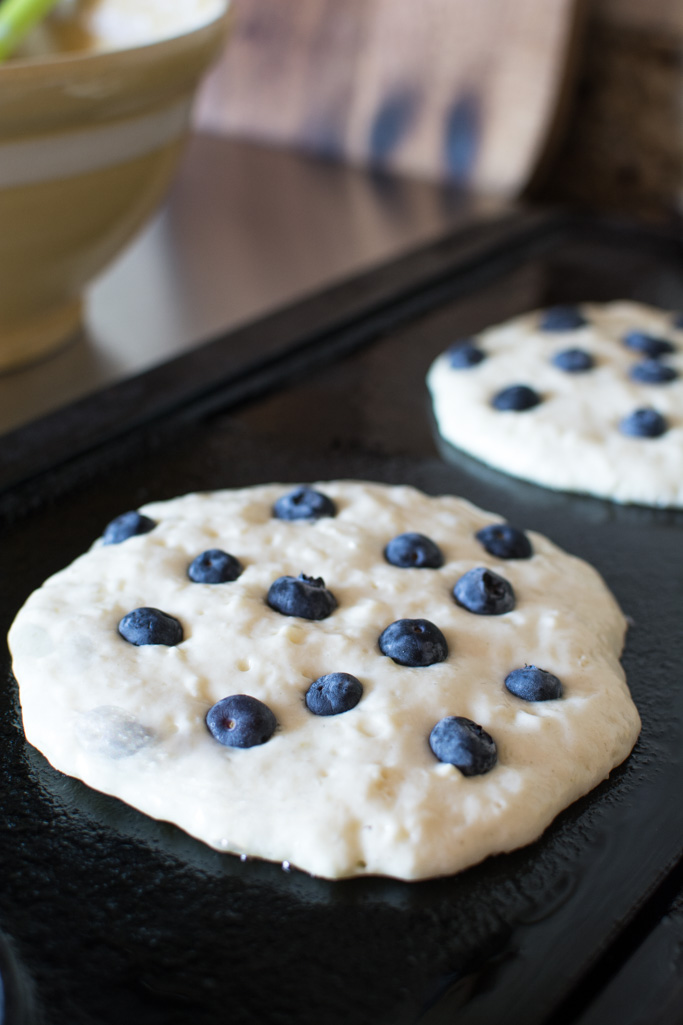 Simply So Good - Blueberry Buttermilk Pancakes