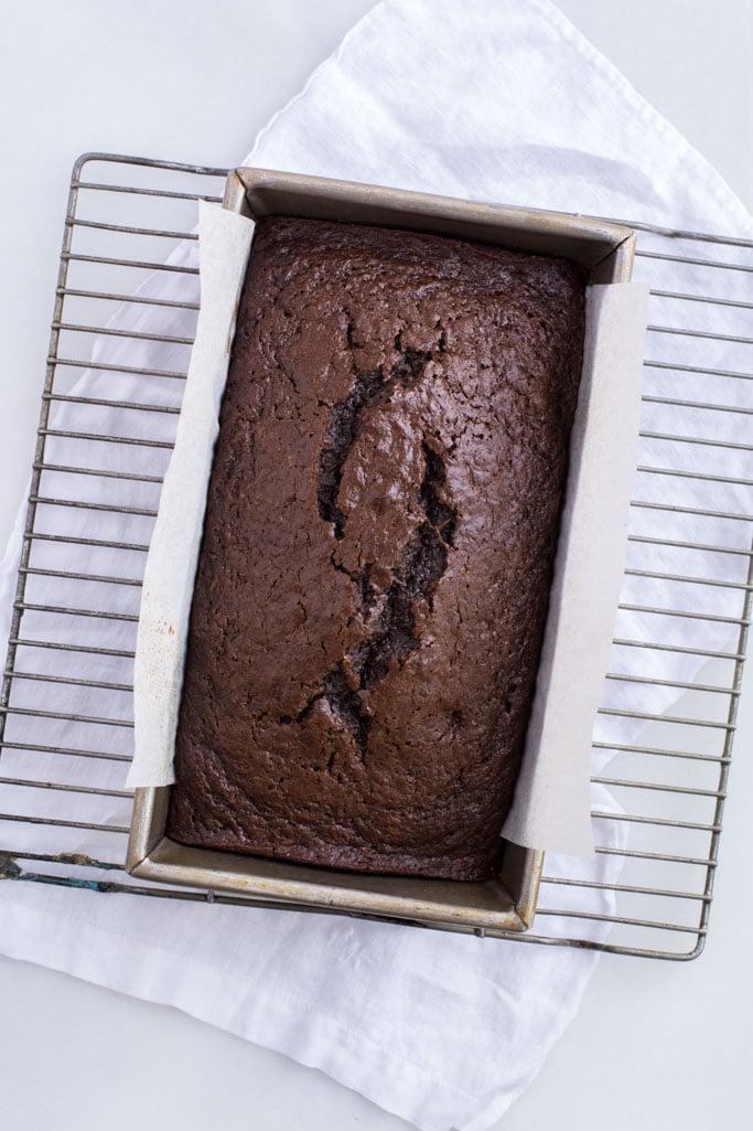 DSC 1120 - Chocolate Coconut Zucchini Bread