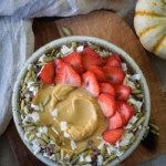 Pumpkin Almond Butter Smoothie Bowl