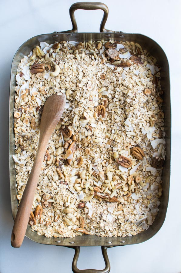 Mixed oats and nuts