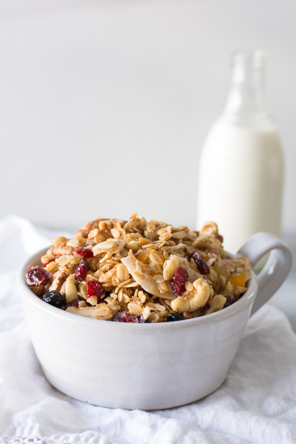 Chewy Nut Loaded Granola