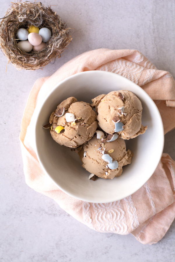 Malted Milk Chocolate Ice Cream